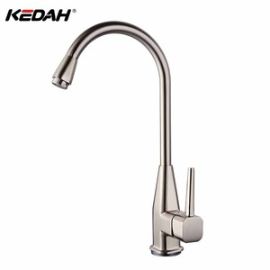 Tall body upc kitchen faucet single handle zinc taps hot and cold water sink faucets