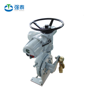 PTK/W electric actuator with worm gearbox reducer for ball valve plug valve butterfly valve