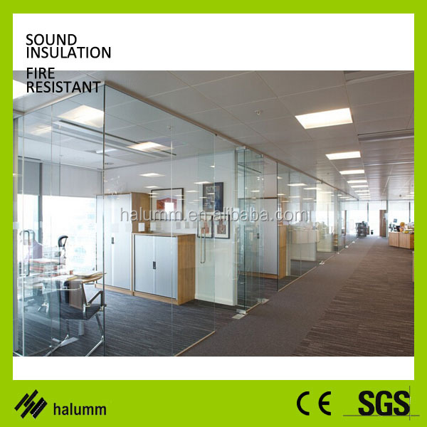 Good Floor To Ceiling Office Partition Glass Sound Proof Wall Removable  Office Partition Walls Commercial Partition