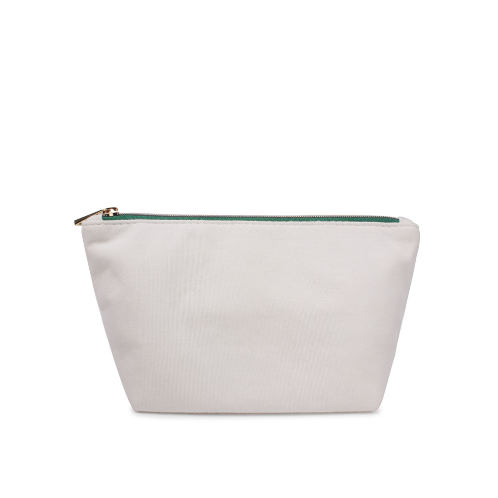 Milk Fiber Women Travel White Small Pouch Cute Makeup Bag For Purse Product