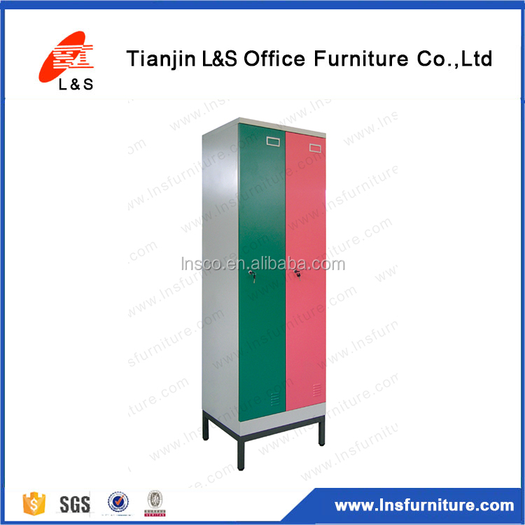 Hot Selling Commercial Furniture Floating 2 Door Thin-wall Chest