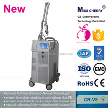 safe and convenient powerful 10600nm vaginal tightening acne scar removal fractional co2 laser equipment CR-V8