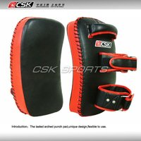 NEW DESIGN Martial Art Pads Thai punching pad D3002 Red Color