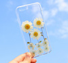 New Arrival Clear TPU Real Dry Flower Mobile Phone case For Iphone