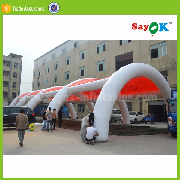 spider inflatable tennis dome tent garden igloo tent with canopy