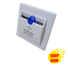Ad Hotel power card key switch electrical switch energy saving inside card switch