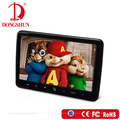 latest model car 10.1 inch clip on type rear seat mounted dvd player