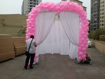 Birthday Party Wedding Party Backdrop Decoration Banner Stand For