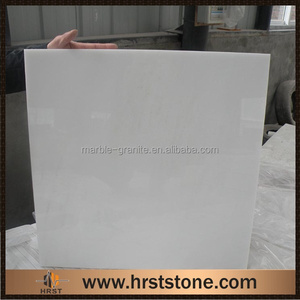 Chinese statuary white marble 24x24 tiles