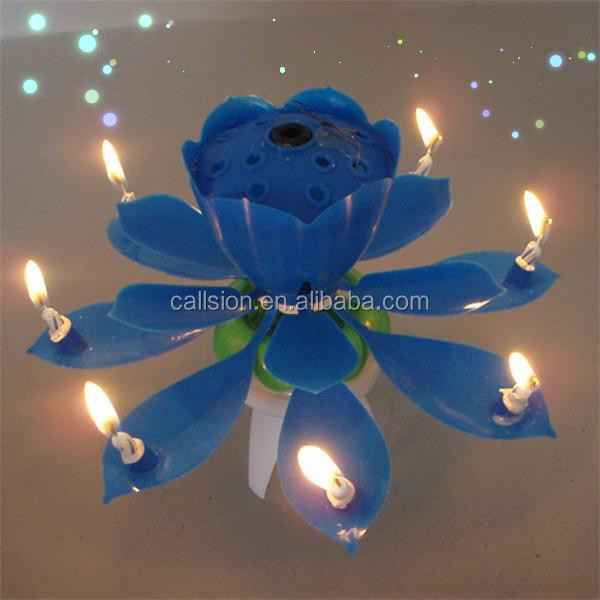 birthday candle flower fireworks