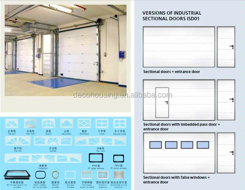 Factory price steel insulated garage door window inserts for Insulated garage door window inserts