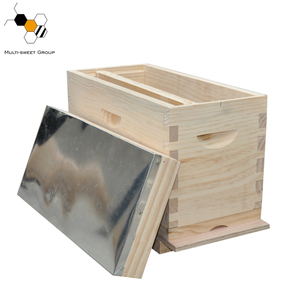 Popular wooden honey bee house nuc box bee nuc hive for queen rearing