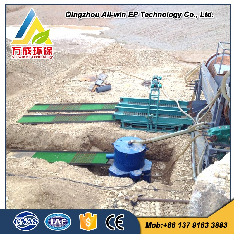 Gold Mineral Separator Mobile Gold Mining Machine for Sale