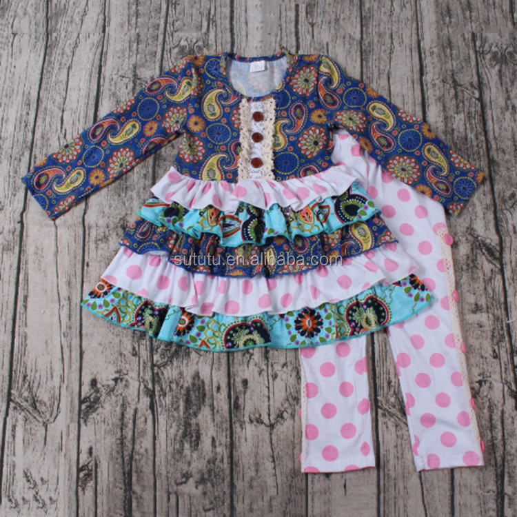 Pictures Of Latest Gowns Designs many ruffles with cotton lace brand name kids clothes