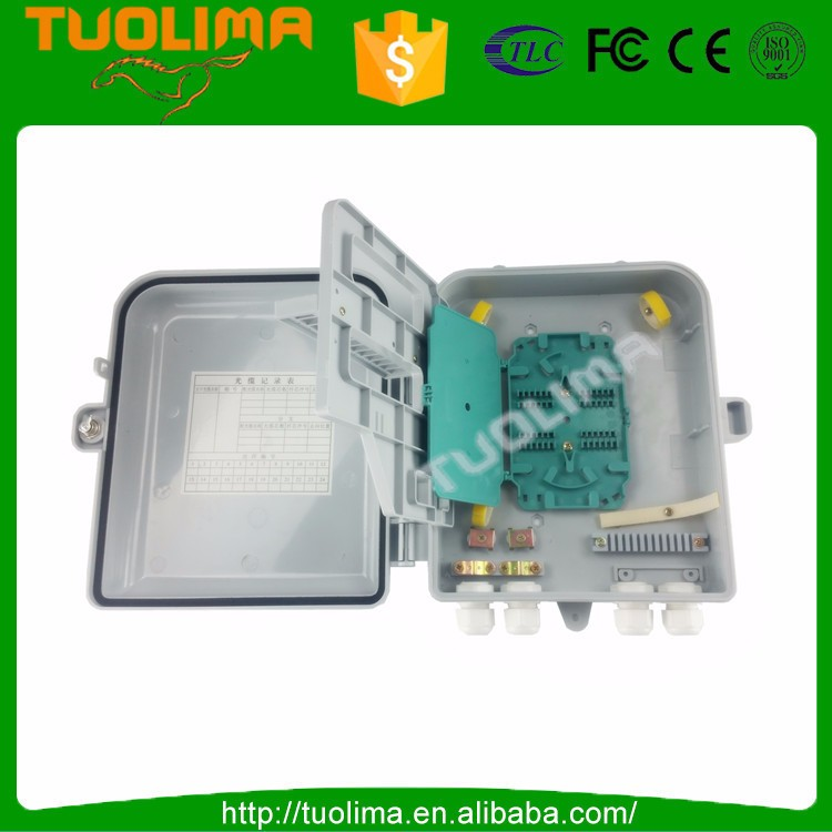 Good Reputation 16 Ports Ftth 24 Core Fiber Optic Distribution Box