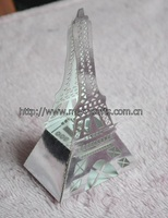 fancy design! free shipping laser cutting paper craft eiffel tower favor boxes party favors china from Mery Crafts