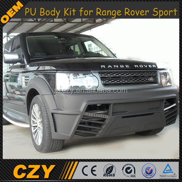 Sport PU Front Bumper Body Kit for Rang e Rover Sport 10-13