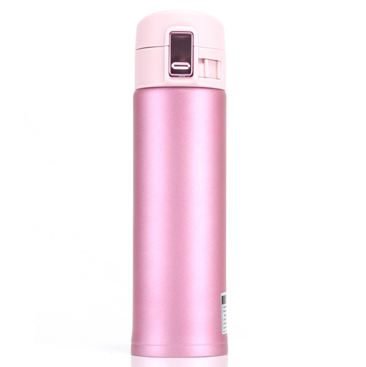 500ml Custom Logo Vacuum Thermos To Go Auto Lock Coffee Stainless Steel Vacuum Cup