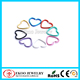316L Surgical Steel Colored Plated Heart Tragus Piercing Jewelry