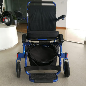 wheelchair foldable Portable handcycle electric wheelchair mobility travel electric wheelchair