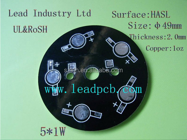 Black Solder Mark Pcb With Ul,Iso & Ts16949 Certified