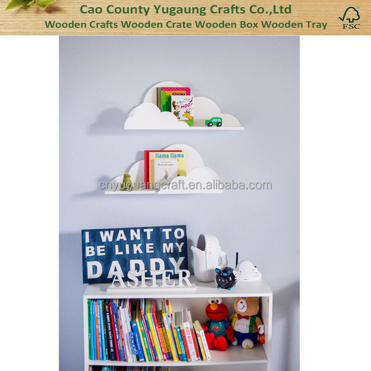 Cloud Shelf for Kids Hanging Cloud Shelves