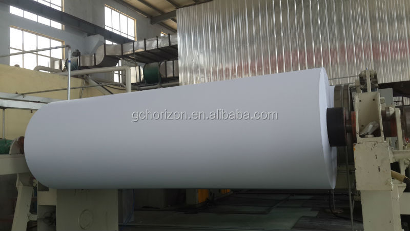 roll wood free paper /woodfree paper roll 80gsm/wood pulp paper roll