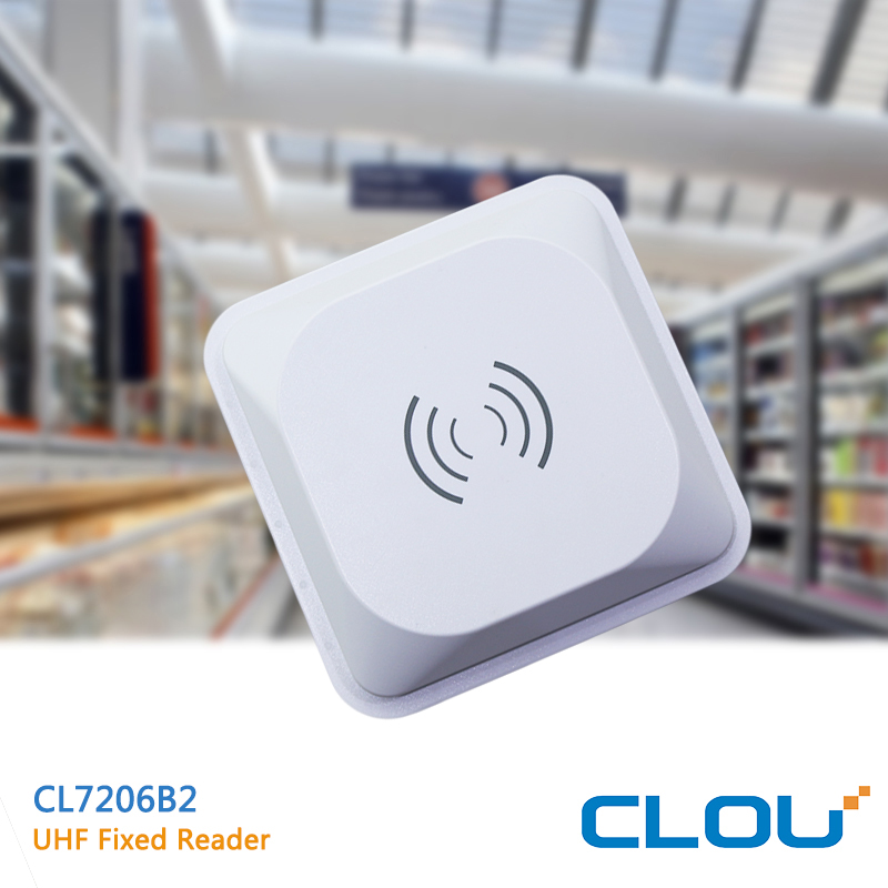 CL7206B2 9dBi Wireless Data Transfer /GPRS Enabled UHF RFID Integrated Reader R2000 chip