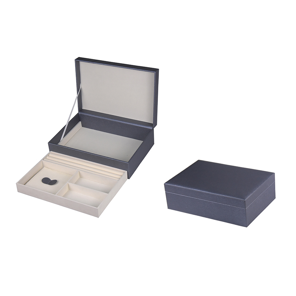 Hot selling jewelry display ring box packaging jewelry boxes and bags custom made with custom logo printed leather jewelry boxes