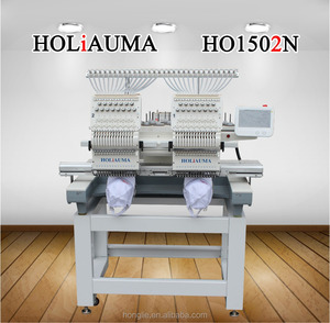 High speed tajima type 2 head embroidery machine with free machine embroidery designs