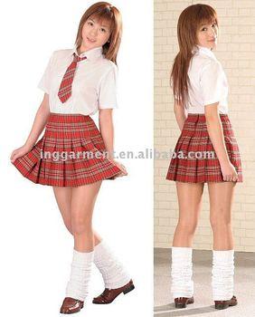 86f387755 Plaid Pleated School Girl Short Skirt - Buy Plaid Pleated School ...