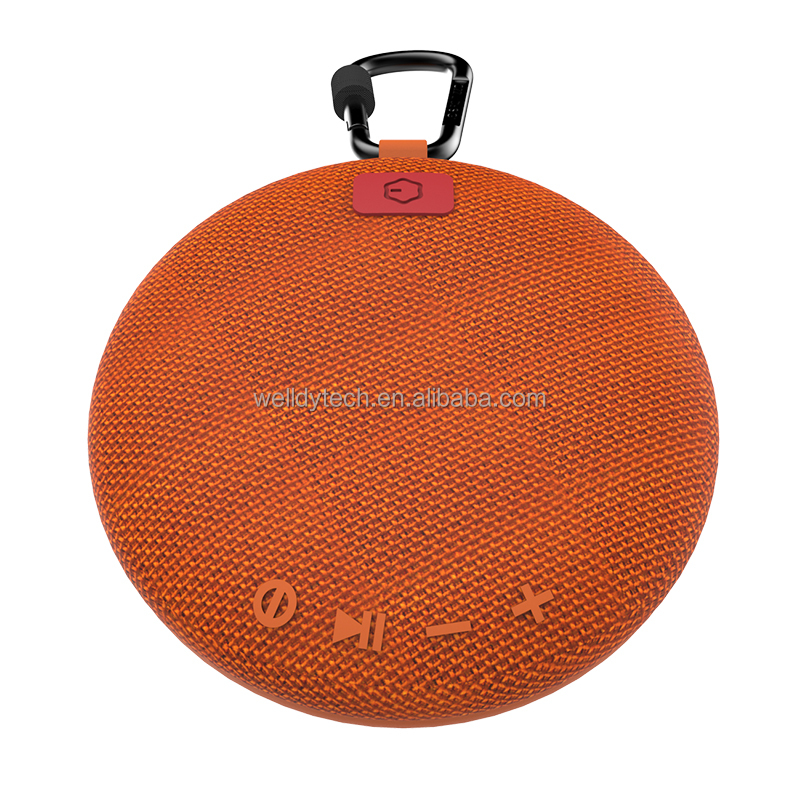 Waterproof Bluetooth Speaker -Black/Blue/Grey/Red/<strong>Orange</strong>