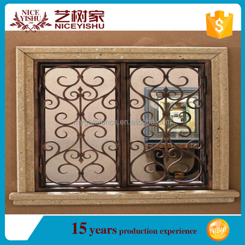 Modern Simple Wrought Iron Designs Windows2016 Hot Sale Low Price