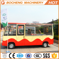 2015 hot sale high quality electric mobile food car