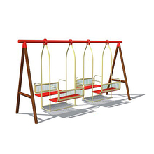 Sliding Board and Swings Kids Public Amusement Toys Outdoor Playground Equipment