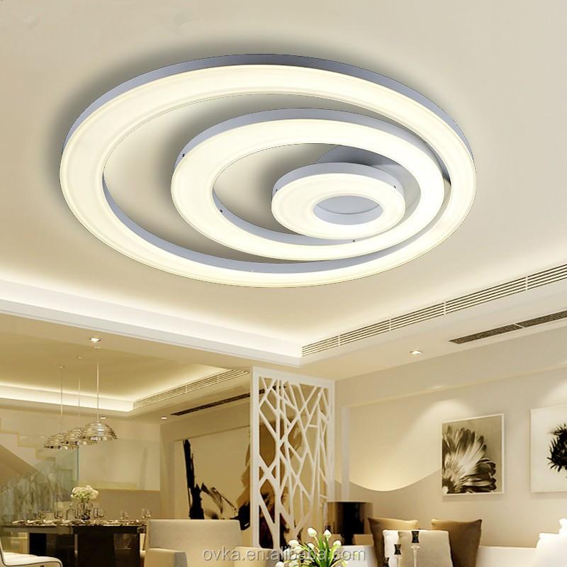 Fantastisch Modernen Minimalistischen Led Deckenleuchten Runden Das Schlafzimmer  Deckenleuchten Wohnzimmer Lichter