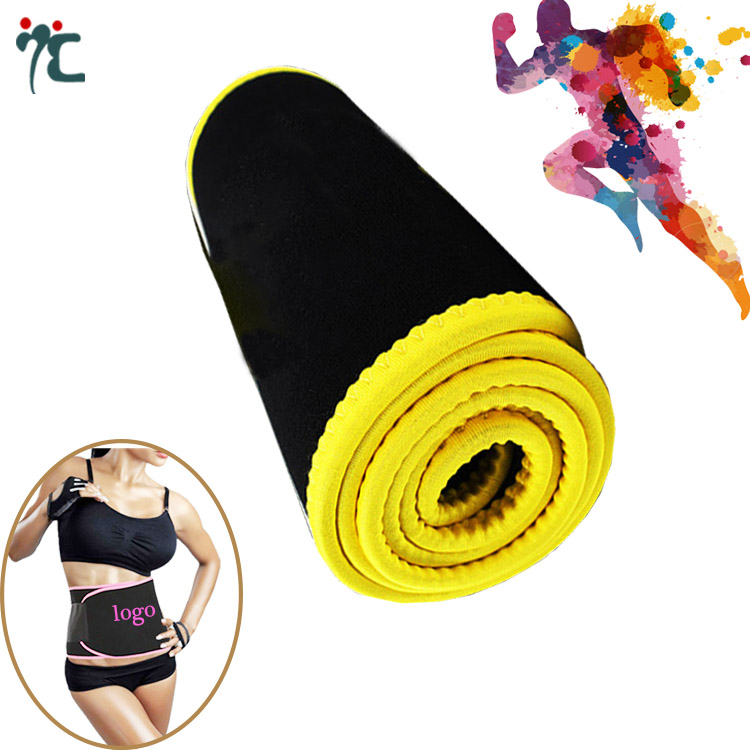 Hot Neoprene Waist Belt Premium Trainer Trimmer Belt Body Shaper