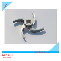 Stainless steel High pressure water pump impeller design for submersible pump