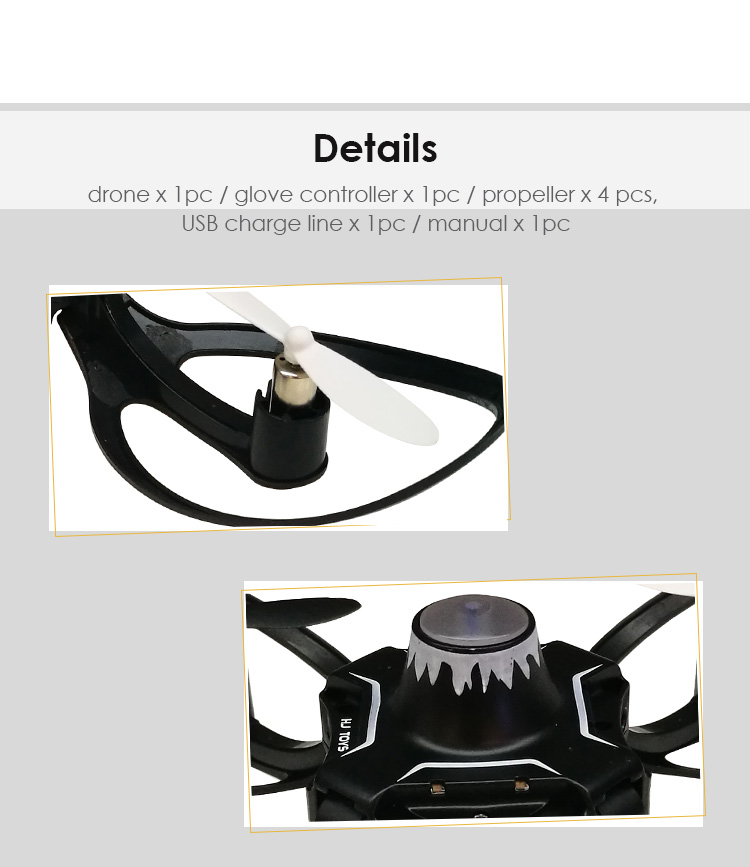 Novelty Design Mini Drone 2.4Ghz Four Axis Gyro Drone With Camera