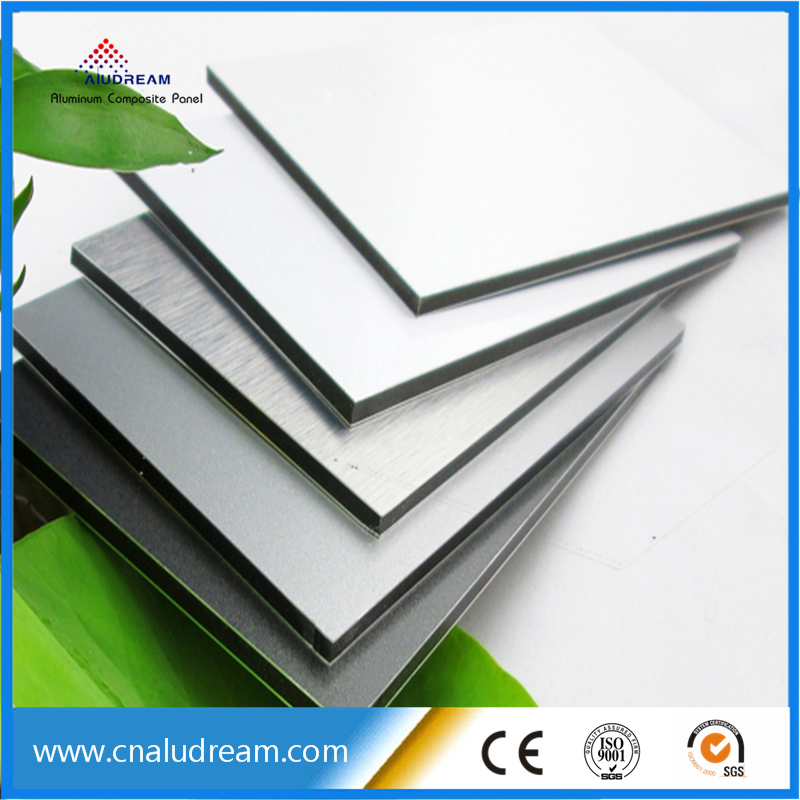 PVDF painting 3mm exterior Wall Decoration aluminum composite panel