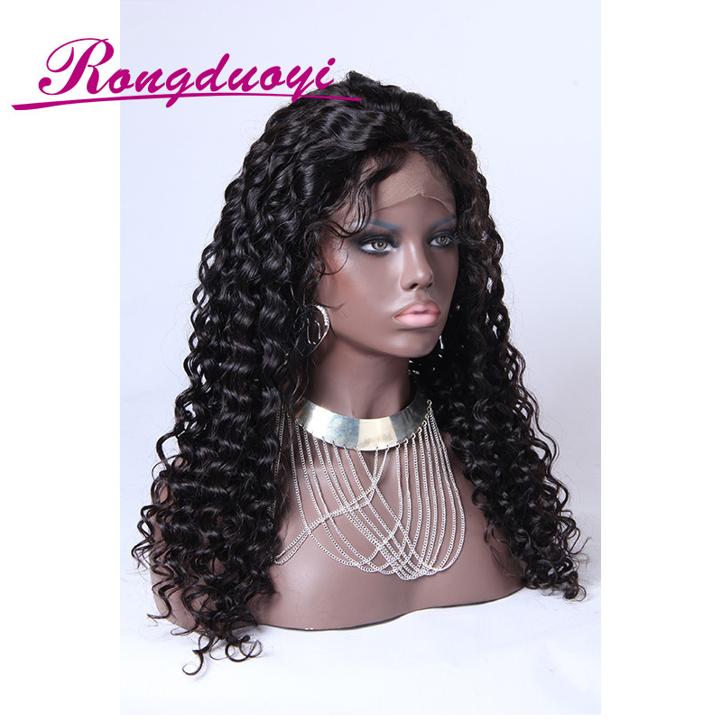 Real Brazilian hair American girl doll wigs beautiful full lace wig with baby hair