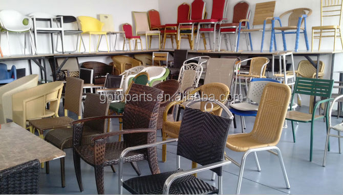 Wholesale Outdoor furniture Bamboo Chair made in China Wicker Chair