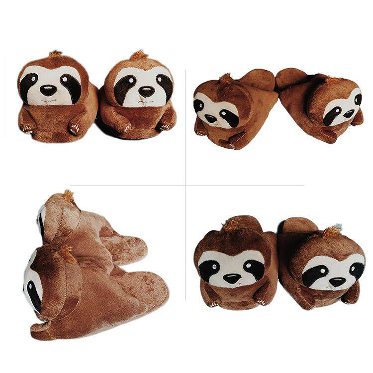 2a65ce4620a8 Free Sample Winter Indoor Plush Monkey Slippers - Buy Indoor Plush ...
