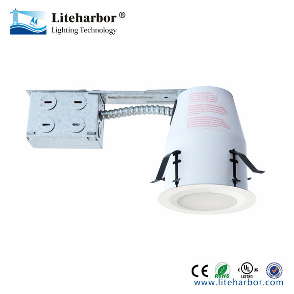 LED downlights cob recessed remodel 4 inch housing