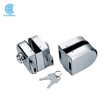 Kg 18d Double Sided Key Lock For Glass Doorglass Door Clamp Lock