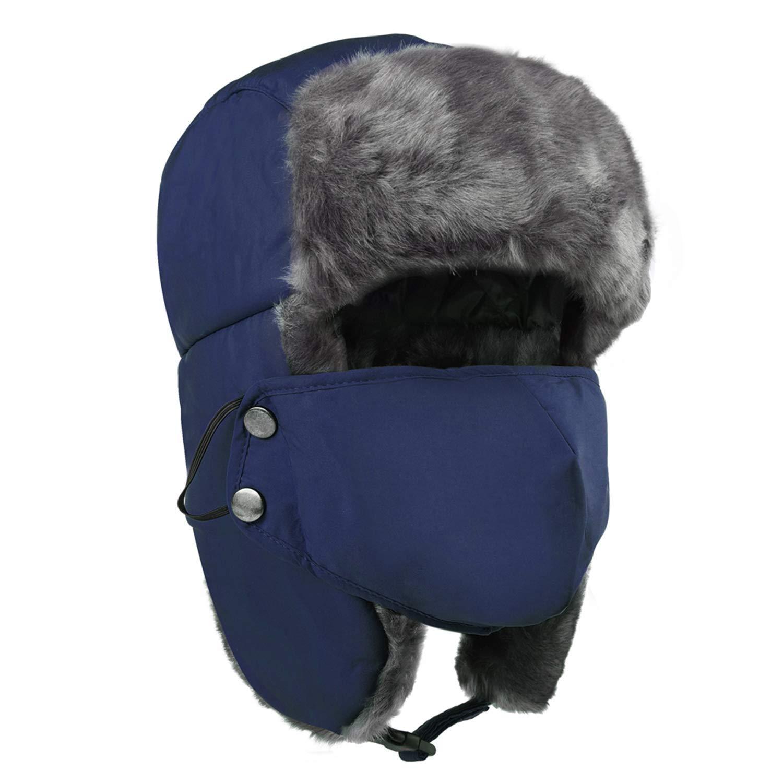 4b39ab23389a7 Get Quotations · Maylisacc Winter Warm Trooper Trapper Ear Flap Hat