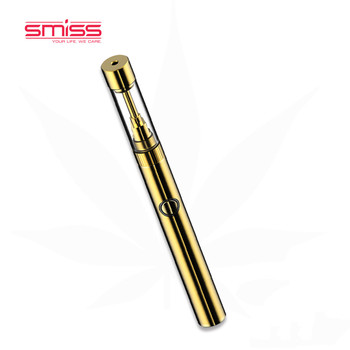 Smiss Custom Logo 0.5ml 510 Thread No Leakage Vaporizer Vape Pen Atomizer Glass Cartridges Vape