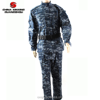 GSM 220 Combat military navy blue uniform ACU Camo