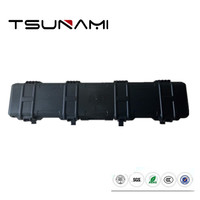 Tsunami long size 1222311 rugged hard gun case with foam