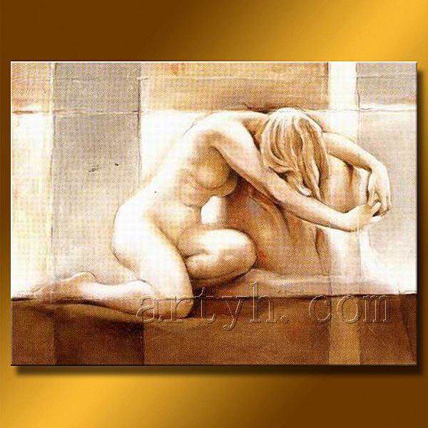 Hot Sell Handmade Oil Painting Of Nude